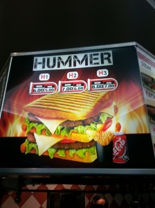 I think the name says it all but also very reminiscent of a Big Mac. HA!