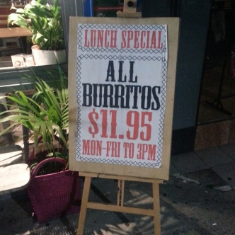 They do not have real Mexicans in Australia so importing burrito rolling technology must be expensive.