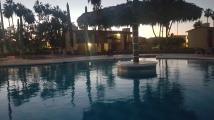 Best swim, warm night, sunset ... perfect!